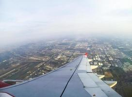 vliegtuig uitzicht vanuit raam