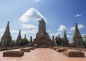 Ayutthaya-tempel