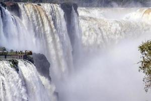 Iguacu, Garganta del Diablo Falls (tele) foto