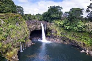 hawaiin waterval foto