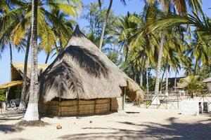paradijselijke bungalow foto