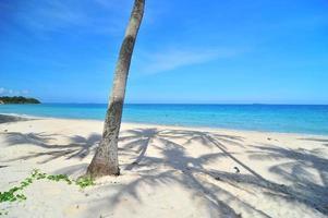 prachtige zee in thailand. foto