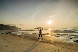 zand en strand foto