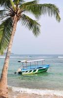 strand in Hikkaduwa, Sri Lanka foto