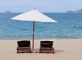 Nha Trang Beach, Vietnam foto