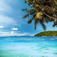 tropische hemel foto
