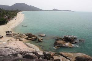 lamai beach samui eiland foto