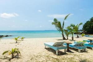 mooi strand in koh kood (kood-eiland), trat thailand foto