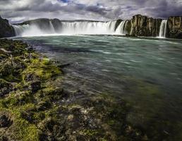 godafoss, een prachtige waterval