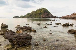 eiland op zomer in Thailand