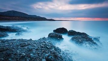 kust van zuidoost Kreta, Griekenland. foto