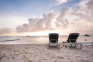 palm beach, aruba foto