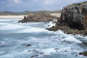 kliffen aan de kust