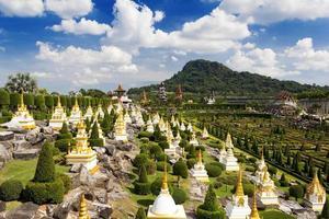 nong nooch tuin in pattaya, thailand foto