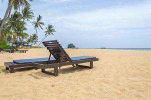 houten lounge foto