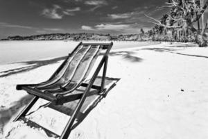 zon strandstoel foto