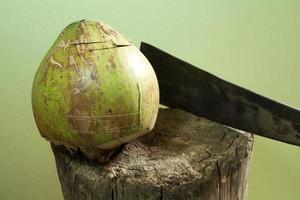 kokosnoot peeling
