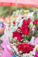 mooie rozen in viering concept