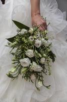 bruid boeket. ramo de novia foto