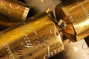 kerst crackers foto