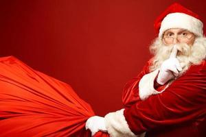 de kerstman komt eraan foto