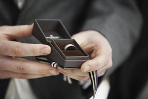 bruiloft: de ring foto