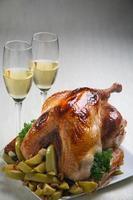 kip voor Kerstmis foto