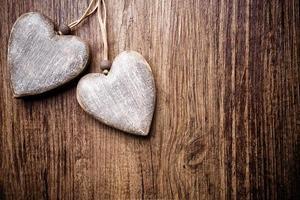 vintage hart. foto