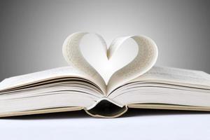 boek hart foto