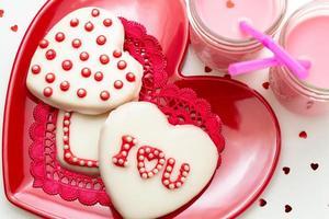 valentijn versierde koekjes