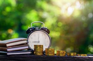 concept om geld te besparen foto
