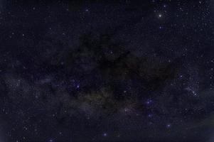 sterren van de melkweg foto
