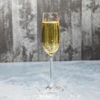 glas champagne foto