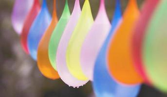 water ballonnen foto