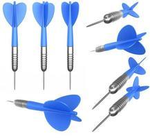 meerdere dartpijlen foto