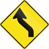 omgekeerde curve in Australië