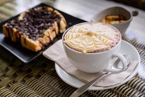 koffie mokka heet foto