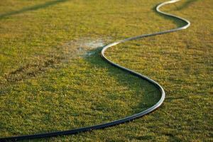 tuinslang water geven