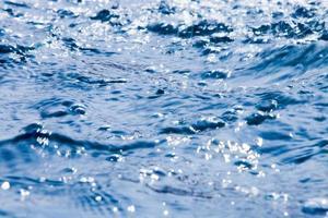 mooie waterbeweging foto