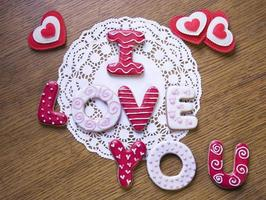 handgemaakte koekjes foto
