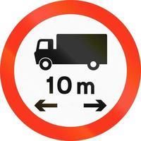limiet voor vrachtwagenlengte in Bangladesh