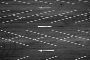 parkeerplaatsen foto