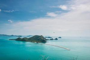 mooie zee. golf van Thailand,