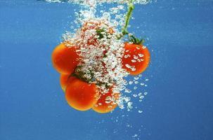 groenten in water foto