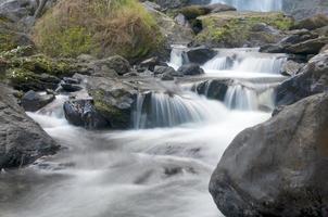 klonglan waterval in kampangpet foto