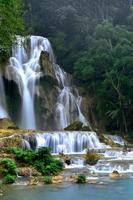kuang si waterval, luang prabang, laos