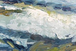 abstract geschilderde textuur foto