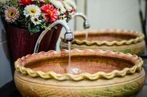 waterdruppel uit de kraan