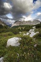 diep in de bergen foto