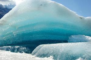 gletsjer mt cook, nieuw-zeeland foto